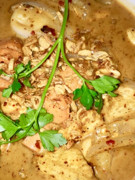 Malay Massaman Curry with Tofu