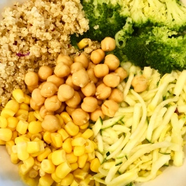 Top with some chickpeas